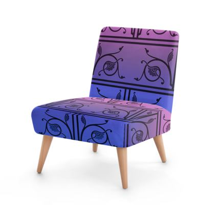 Occasional Chair - Medieval Pattern from The Practical Decorator 8 of 8