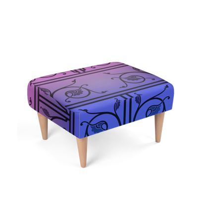 Footstool - Medieval Pattern from The Practical Decorator 8 of 8