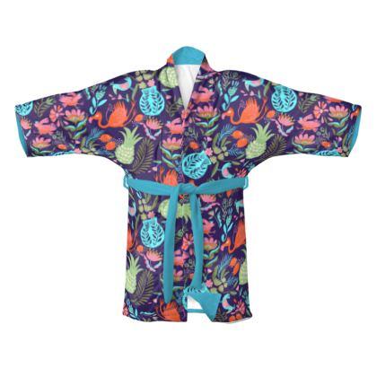 Kimono tropical violet