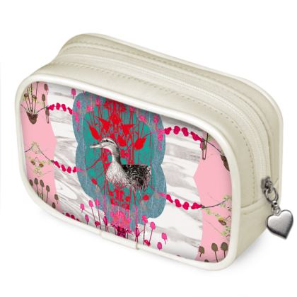 Pink Duck Pouch Purse