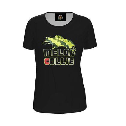 Ladies T Shirt - Melon Collie Skater Trick
