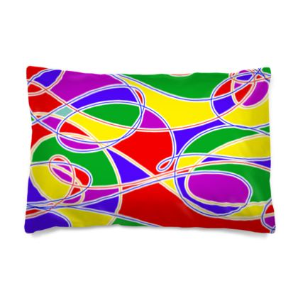 Pillow Cases - Multi-Colour Shades Of Summer