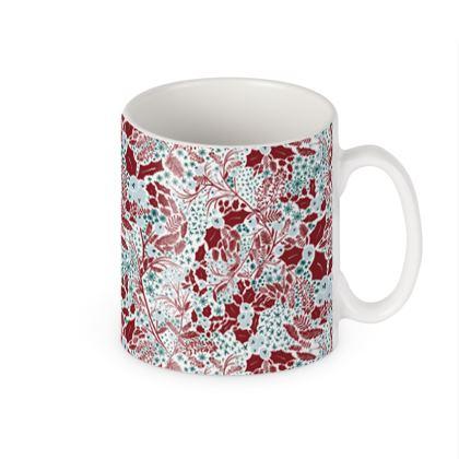 Patterned Christmas Mug