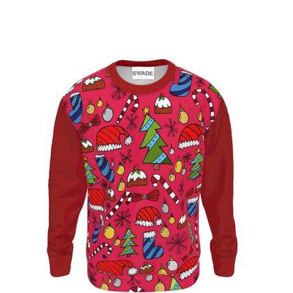 Sweatshirt - Christmas Pattern