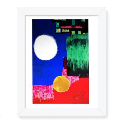 ZEPPELIN Framed Art Print .