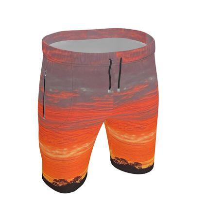 Mawnan Sunrise Exercise Shorts