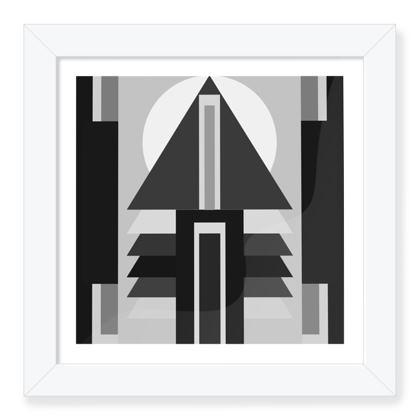 Sun Of House 22 Framed Art Print .
