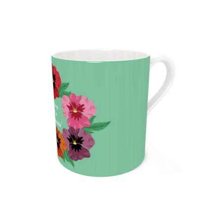 Keep On Blooming [Light Mint] Coffee Mug