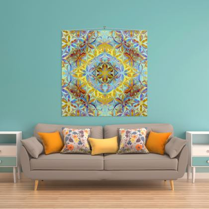 Wall Hanging Flower Of Life