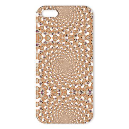 IPhone Cases - Cardigan Corgi Face Pattern - version two