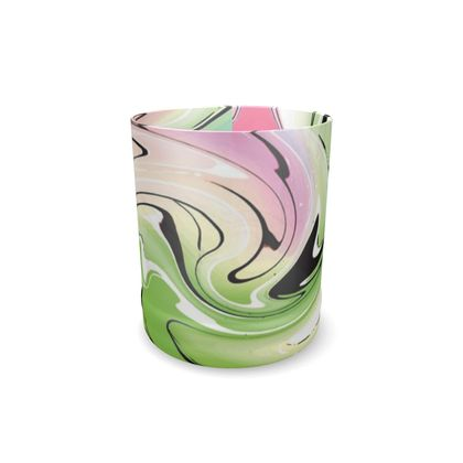 Whisky Glass - Multicolour Swirling Marble Pattern 2 of 12