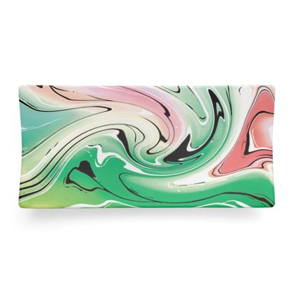 Seder Dish - Multicolour Swirling Marble Pattern 1 of 12