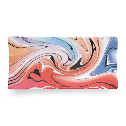 Seder Dish - Multicolour Swirling Marble Pattern 5 of 12