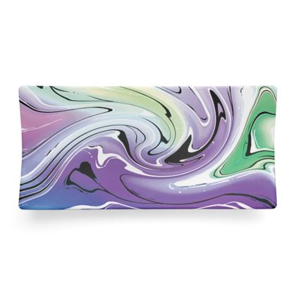 Seder Dish - Multicolour Swirling Marble Pattern 8 of 12