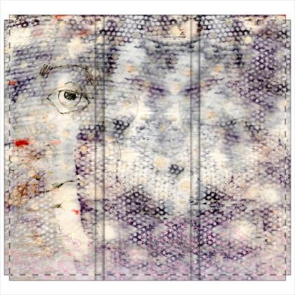 Eye in the Dye Folding Screen