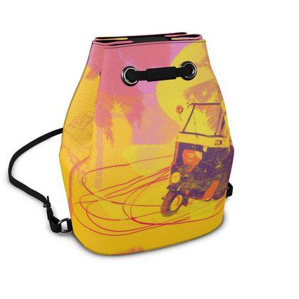 Napa Leather Bucket Bag - TukTuk