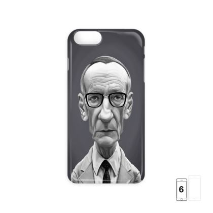 William Burroughs Celebrity Caricature iPhone 6 Case