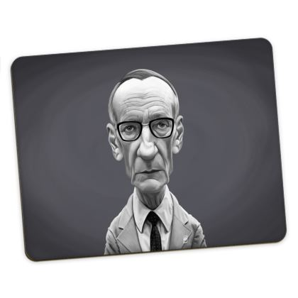 William Burroughs Celebrity Caricature Placemats