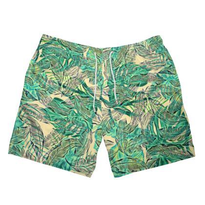 Exotic Jungle Swimming Shorts