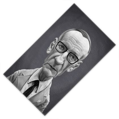 William Burroughs Celebrity Caricature Towels