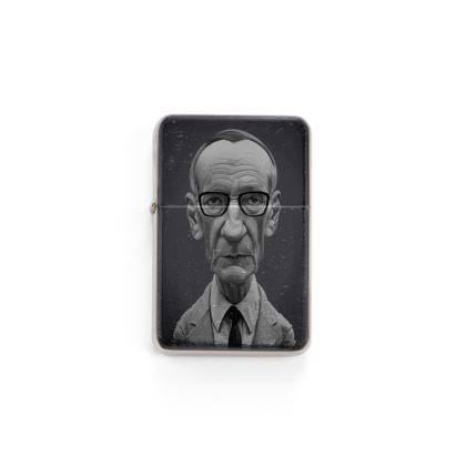 William Burroughs Celebrity Caricature Lighter