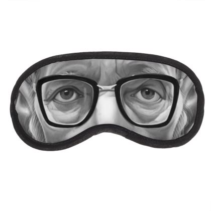 William Burroughs Celebrity Caricature Eye Mask
