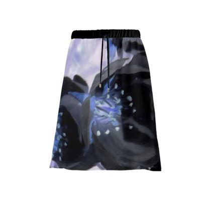 BB Black Blossom skirt