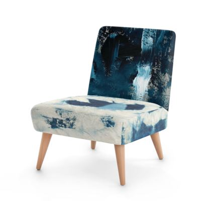 Indigo patch Occasional Chair