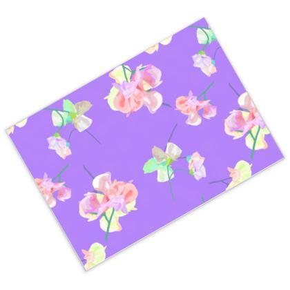 Postcards Mauve, Pink, Floral  My Sweet Pea  Purple Passion