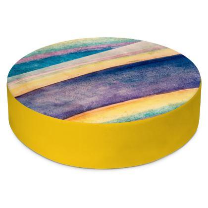 Round Floor Cushions- Multicolor