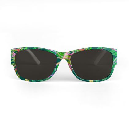 Quirky Green Designer Sunglasses