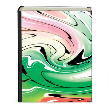 Photo Albums - Multicolour Swirling Marble Pattern 1 of 12