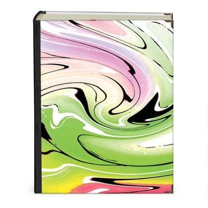 Photo Albums - Multicolour Swirling Marble Pattern 2 of 12