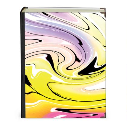 Photo Albums - Multicolour Swirling Marble Pattern 3 of 12