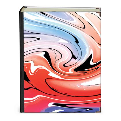 Photo Albums - Multicolour Swirling Marble Pattern 5 of 12