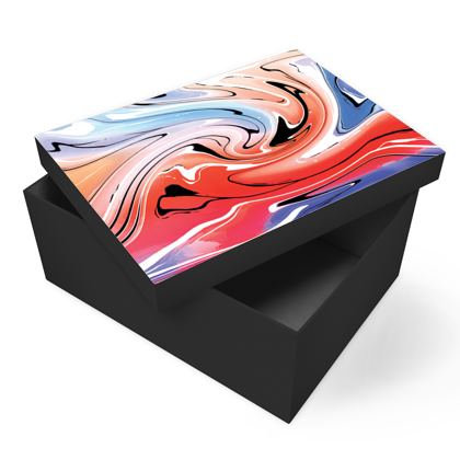 Photo Box - Multicolour Swirling Marble Pattern 5 of 12