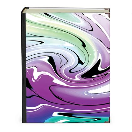 Photo Albums - Multicolour Swirling Marble Pattern 7 of 12
