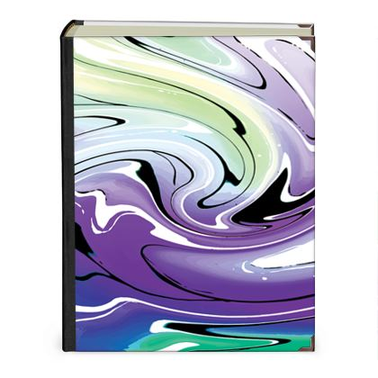Photo Albums - Multicolour Swirling Marble Pattern 8 of 12