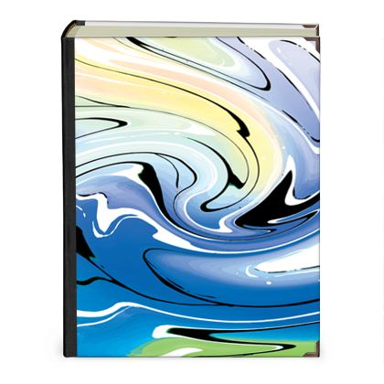 Photo Albums - Multicolour Swirling Marble Pattern 9 of 12