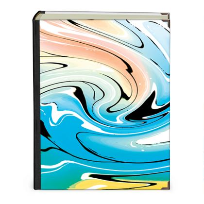 Photo Albums - Multicolour Swirling Marble Pattern 10 of 12