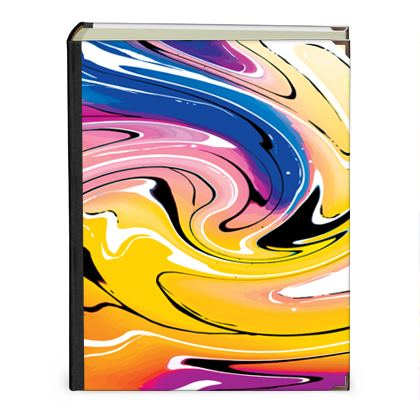 Photo Albums - Multicolour Swirling Marble Pattern 12 of 12