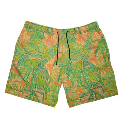 Sunny and Tropical Swimming Shorts