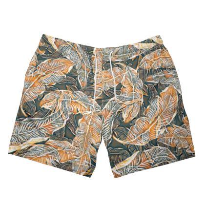 Banana Leaves Swimming Shorts