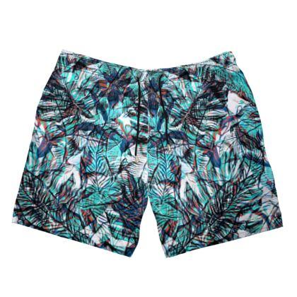 Jungle Blues Swim Shorts