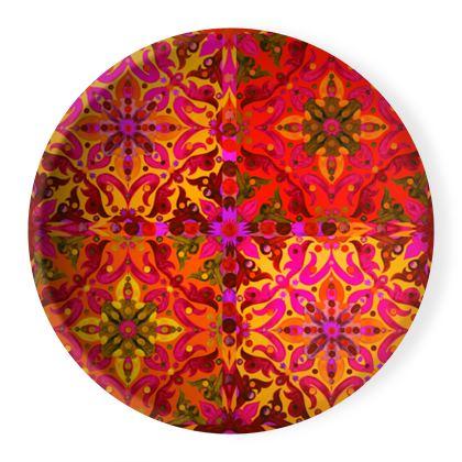 Piatto ornamentale linea Arabescar