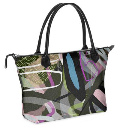 Plant Camp Zip Top Handbag