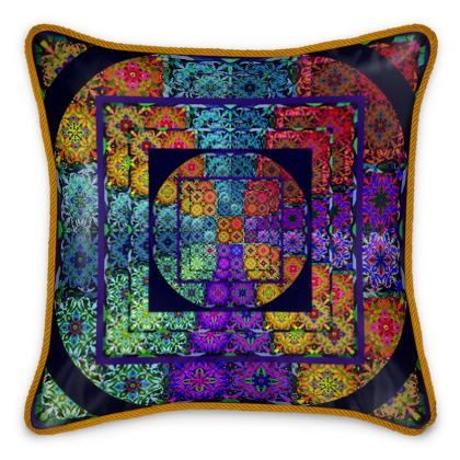 Cuscino in seta linea Arabescar
