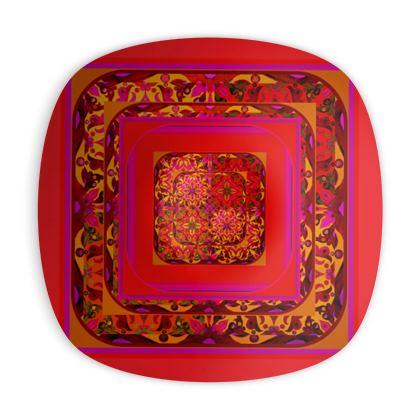 Piatto ornamentale Arabescar