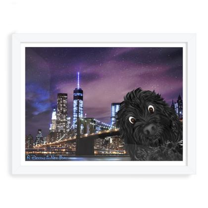 DOODLE IN NEW YORK ~ black