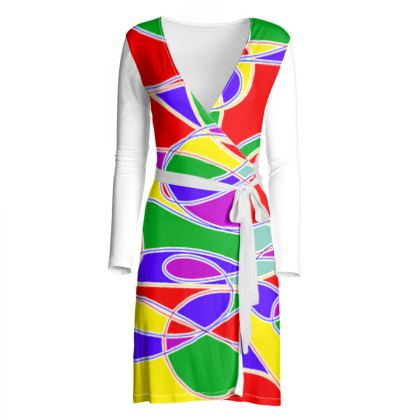 Wrap Dress - Summer Colours to Brighten Your Day